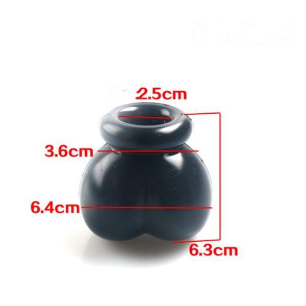 BDSM (БДСМ) - <? print Черный фиксатор для яичек; ?>