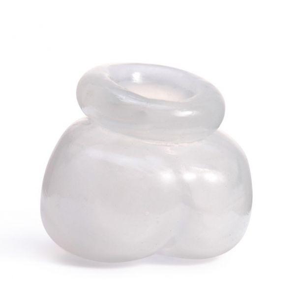Прозрачный силиконовый фиксатор для яичек
