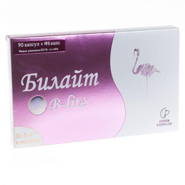 Препарат для похудения Билайт B-Lite, 96 капсул