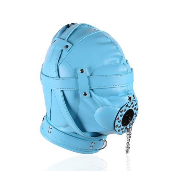 BDSM (БДСМ) - <? print Голубая полностью закрытая бдсм маска; ?>