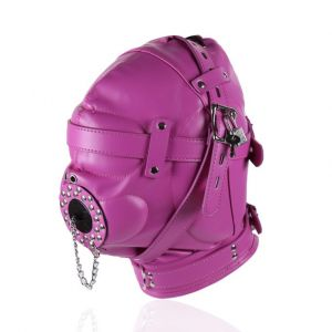 Purple fully enclosed GIMP mask