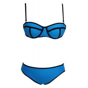 Яркий синий купальник - Купальники