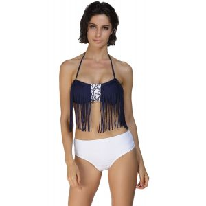 Original swimsuit with fringe