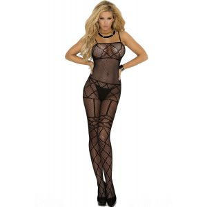 Midnight Desires Fishnet Bodystocking