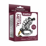 Пояс верности Penetration Metal Chastity Cage -