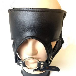 Latest Leather Eyepatch Stainless Steel Ring Gag