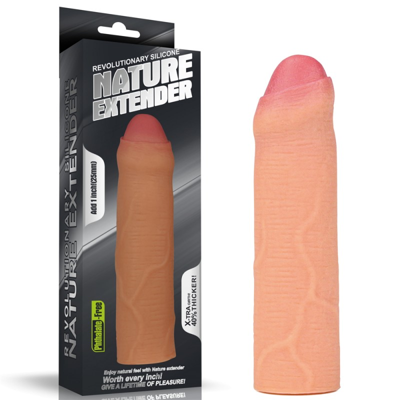 Насадка Revolutionary Silicone Nature Extender
