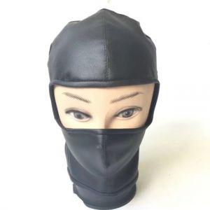 Latest PU-Leather hood Showing Eyes