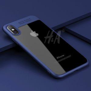 РАСПРОДАЖА! Чехол для IPHONE X / IPHONE TEN (Айфон икс, айфон десять) синий - Подарки