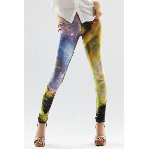 Leggings high waist Galaxy