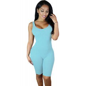 Светло-голубой спортивный комбинезон - Спортивная одежда