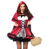 Sexy Little Red Ridding Hood Costume -