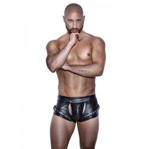 Fashion Black Men Pants - Белье (латекс, винил)