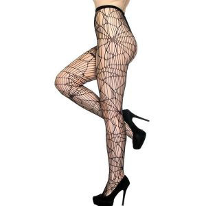 Simplicity Sexy Abstract Spider Net Fashion Fishnet Tights - Колготы