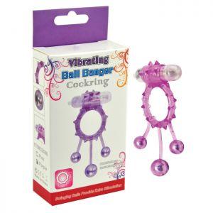 Vibracula with three swinging balls