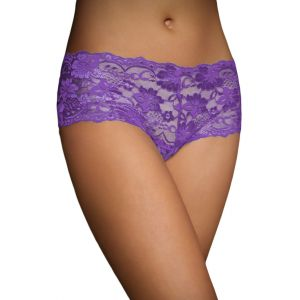 Purple Lace Naughty Knicker