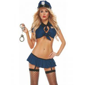 Women Police Cop Officer Costume - Игровые костюмы