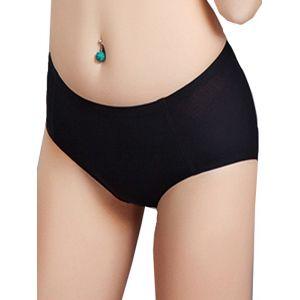 4 Colors M-2XL Pure Cotton Panties