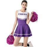 Purple Sexy Women Sport Mini Dress