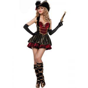 Women Pirate Fancy Costume