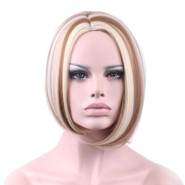 Короткий стильный парик
