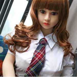 Super-realistic doll 146 cm with NO face.B03