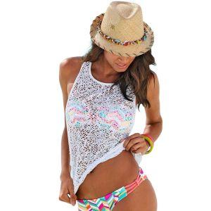 РАСПРОДАЖА! Воздушная белая накидка - Пляжная одежда