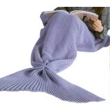 Illusion Warmth Knitted Sofa Mermaid Tail Blankets по оптовой цене
