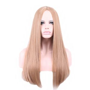 Long synthetic wig