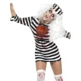 Stripe Prisoner Halloween Costumes for women