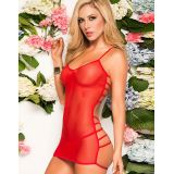 Lingerie Strappy Babydoll with G-String