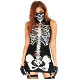 Scary Skeleton Cosplay Halloween Costume