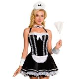 Halter Neck French Maid Costume