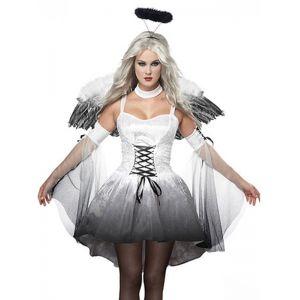 3pcs sexy corset halloween feather costume