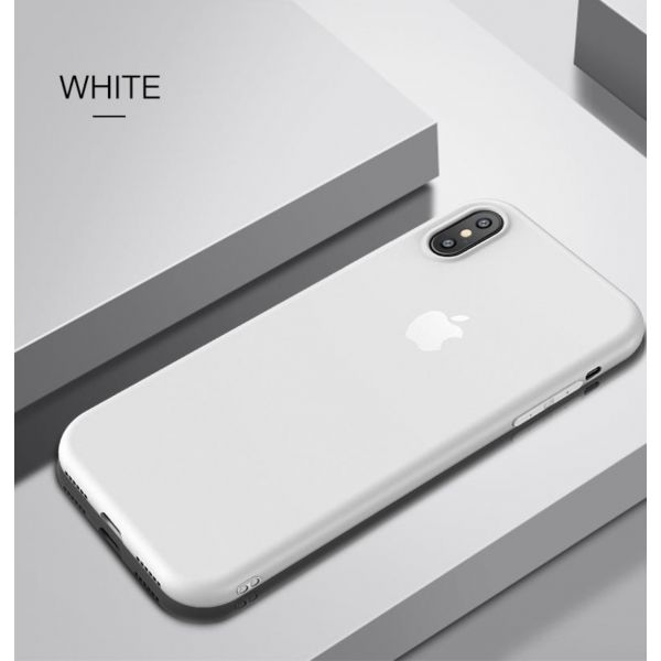 РАСПРОДАЖА! Чехол из тонкого матового TPU для Iphone X / Iphone 10 белый