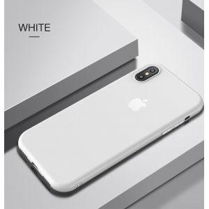РАСПРОДАЖА! Чехол из тонкого матового TPU для Iphone X / Iphone 10 белый - СВЕЖИЕ ПОСТУПЛЕНИЯ!