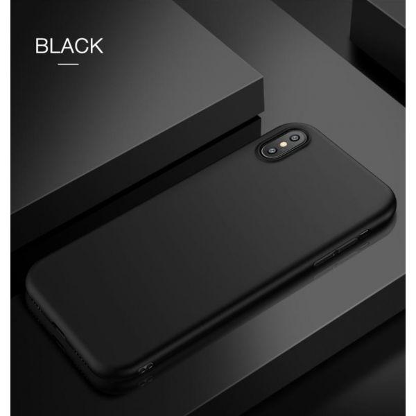 РАСПРОДАЖА! Чехол из тонкого матового TPU для Iphone X / Iphone 10 черный