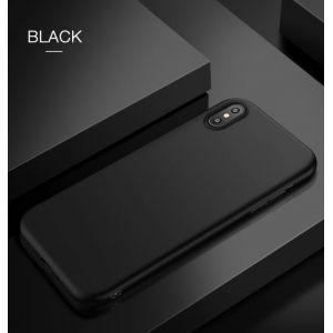 РАСПРОДАЖА! Чехол для Iphone XS / Iphone X / Iphone 10 из тонкого матового TPU черный - Подарки