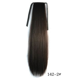 SALE! Black pony tail with a ripple effect
