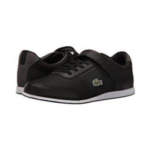 SALE! Sneakers Lacoste sneakers men black size 41