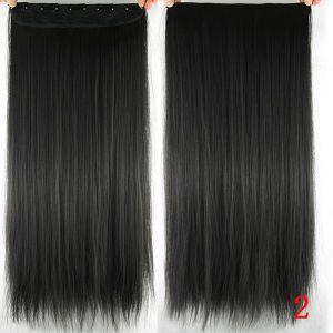 РАСПРОДАЖА! Волосы на заколках коричневый 2# - Парики