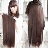 РАСПРОДАЖА! Волосы на заколках коричневый 5# по оптовой цене