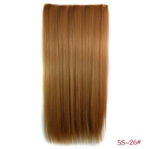 РАСПРОДАЖА! Волосы на заколках золото-коричневый 5S-26# - Парики