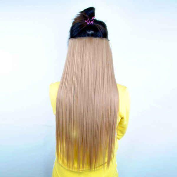 РАСПРОДАЖА! Волосы на заколках лен 27