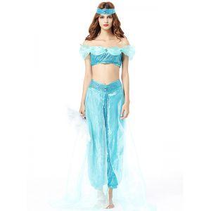 Blue One Size Off Shoulder International Costume
