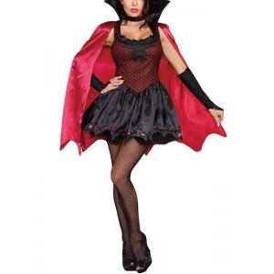 sexy halloween cosplay woman vampire costume