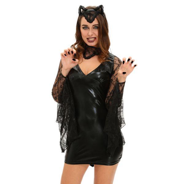 3pcs sexy moonlight bat halloween costume