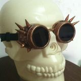 Retro Steam Punk Barbed Glasses B-030