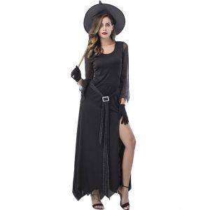 Sexy Witch halloween Costume Black