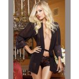 Long Sleeve Sexy Transparent Nightie Allure